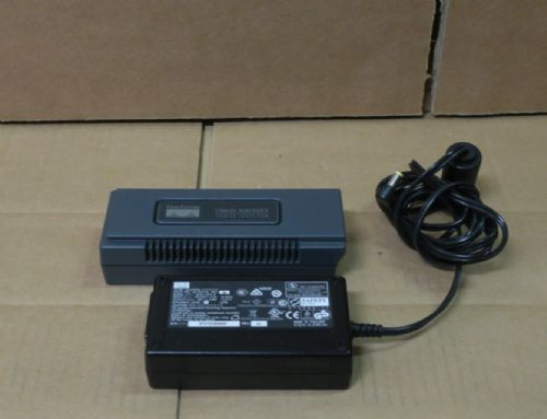 Cisco Aironet AIR-PWRINJ3 +  EADP-18FB - PoE Power Injector With AC Adapter